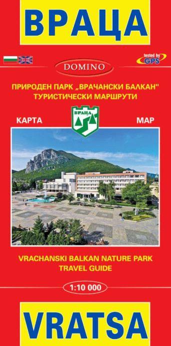 Store Bg Karta Na Vraca Map Of Vratsa M 1 10 000