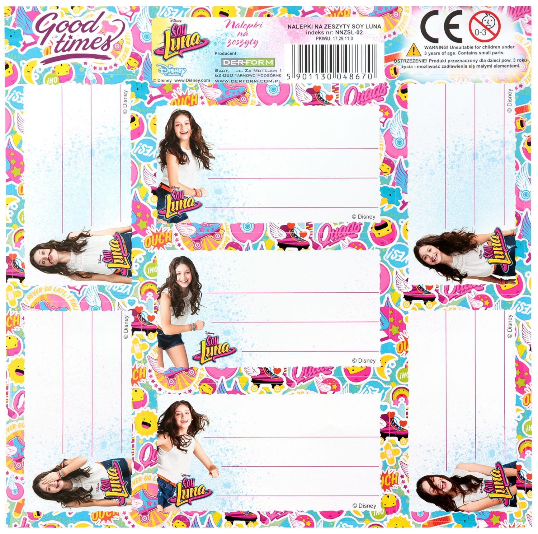 93b66c119a9 store.bg - Етикети за тетрадки - Soy Luna