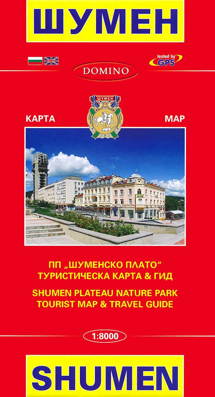 Store Bg Karta Na Shumen Map Of Shumen M 1 8000