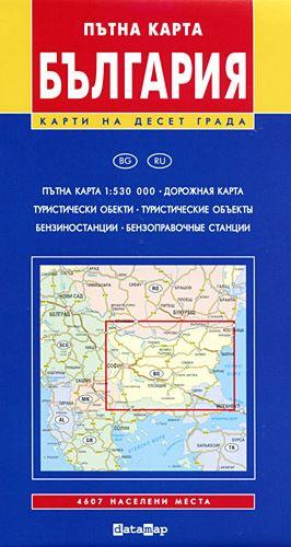 Store Bg Ptna Karta Na Blgariya M 1 530 000