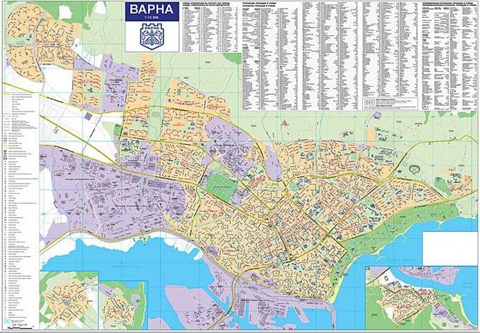 Store Bg Stenna Karta Na Varna M 1 10 000