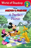 World of Reading: Mickey and Friends - A Perfect Picnic : Level 2 - Kate Ritchey -