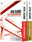 Ayn Rand Box Set : The Fountainhead. Atlas Shrugged - Ayn Rand -