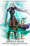 Throne of Glass - book 3: Heir of Fire - Sarah J. Maas -