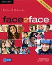 face2face - Elementary (A1 - A2): Учебник + DVD : Учебна система по английски език - Second Edition - Chris Redston, Gillie Cunningham - книга