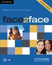 face2face - Pre-intermediate (B1): Учебна тетрадка по английски език : Second Edition - Nicholas Tims, Chris Redston, Gillie Cunningham - книга
