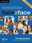 face2face - Pre-intermediate (B1): CD с тестове + aудио CD : Учебна система по английски език - Second Edition - Chris Redston, Gillie Cunningham, Anthea Bazin, Sarah Ackroyd -