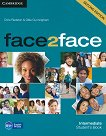 face2face - Intermediate (B1+): Учебник + DVD : Учебна система по английски език - Second Edition - Chris Redston, Gillie Cunningham - продукт