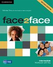 face2face - Intermediate (B1+): Учебна тетрадка по английски език : Second Edition - Nicholas Tims, Chris Redston, Gillie Cunningham - продукт