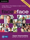 face2face - Upper Intermediate (B2): CD с тестове + aудио CD : Учебна система по английски език - Second Edition - Chris Redston, Gillie Cunningham, Anthea Bazin, Sarah Ackroyd -
