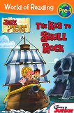 World of Reading: Jake and the Never Land Pirates - The Key to Skull Rock : Level Pre-1 - Bill Scollon - детска книга