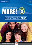 MORE! - Ниво 3 (A2 - B1): Presentation Plus - DVD : Учебна система по английски език - Second Edition - Herbert Puchta, Jeff Stranks, Gunter Gerngross, Christian Holzmann, Peter Lewis-Jones -
