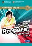 Prepare! - ниво 3 (A2): Учебник по английски език : First Edition - Joanna Kosta, Melanie Williams, Annette Capel -