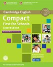 Compact First for Schools - Upper Intermediate (B2): Учебник + CD : Учебна система по английски език - Second Edition - Barbara Thomas, Laura Matthews -