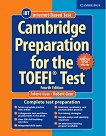 Cambridge Preparation for the TOEFL Test - Fourth Edition: Помагало + онлайн тестове - Jolene Gear, Robert Gear - книга