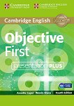 Objective - First (B2): Presentation Plus - DVD : Учебен курс по английски език - Fourth edition - Annette Capel, Wendy Sharp -