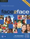 face2face - Pre-intermediate (B1): Student's Book Pack : Учебна система по английски език - Second Edition - Chris Redston, Gillie Cunningham -