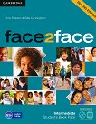 face2face - Intermediate (B1+): Student's Book Pack : Учебна система по английски език - Second Edition - Chris Redston, Gillie Cunningham -