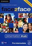face2face - Pre-intermediate (B1): DVD Presentation Plus : Учебна система по английски език - Second Edition - Chris Redston, Gillie Cunningham -