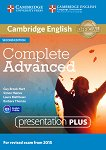 Complete - Advanced (C1): Presentation Plus - DVD : Учебна система по английски език - Second Edition - Guy Brook-Hart, Simon Haines, Laura Matthews, Barbara Thomas -