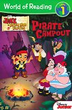 World of Reading: Jake and the Never Land Pirates - Pirate Campout : Level 1 - Bill Scollon - детска книга
