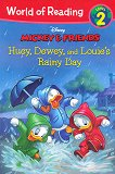 World of Reading: Mickey and Friends - Huey, Dewey and Louie's Rainy Day : Level 2 - Kate Ritchey -