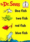 One Fish, Two Fish, Red Fish, Blue Fish Book & CD - Dr. Seuss -
