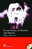 Macmillan Readers - Elementary: Seven Stories of Mystery and Horror + extra exercises and 2 CDs - Edgar Allan Poe -