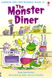 Usborne Very First Reading - Book 13: The Monster Diner - Mairi Mackinnon -