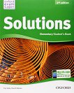 Solutions - Elementary: Учебник по английски език : Second Edition - Tim Falla, Paul A. Davies -