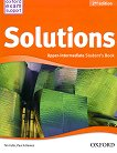 Solutions - Upper-Intermediate: Учебник по английски език : Second Edition - Tim Falla, Paul A. Davies -