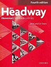 New Headway - Elementary (A1 - A2): Учебна тетрадка по английски език + iChecker CD-ROM : Fourth Edition - John Soars, Liz Soars -