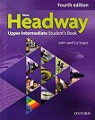 New Headway - Upper-Intermediate (B2): Учебник по английски език + iTutor DVD-ROM : Fourth Edition - John Soars, Liz Soars - помагало