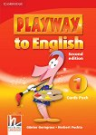 Playway to English - ниво 1: Флашкарти по английски език : Second Edition - Herbert Puchta, Gunter Gerngross -