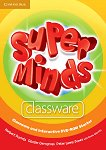 Super Minds - Starter (Pre - A1): Classware and Interactive - DVD-ROM по английски език - Herbert Puchta, Gunter Gerngross, Peter Lewis-Jones, Emma Szlachta -