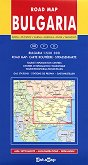 Road Map of Bulgaria - M 1:530 000 - карта