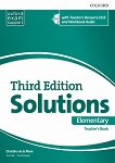 Solutions - Elementary: Книга за учителя по английски език + CD : Third Edition - Christina de la Mare, Tim Falla, Paul A. Davies -