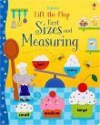 Lift-the-flap: First Sizes and Measuring - Hannah Watson, Melisande Luthringer - книга