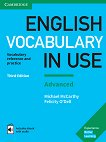 English Vocabulary in Use: Advanced Book with Answers and Enhanced eBook : Third Edition - Michael McCarthy, Felicity O'Dell -