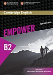 Empower - Upper Intermediate (B2): Книга за учителя по английски език - Lynda Edwards, Ruth Gairns, Stuart Redman, Wayne Rimmer -