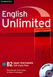 English Unlimited: Учебна система по английски език : Ниво Upper Intermediate (B2): Учебна тетрадка + DVD-ROM - Rob Metcalf, Chris Cavey, Alison Greenwood -