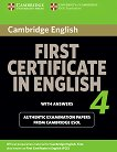 Cambridge First Certificate in English for updated exam 4: Учебник -