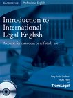 Introduction to International Legal English: Учебник + Комплект 2 CD - Amy Krois-Lindner, Matt Firth -