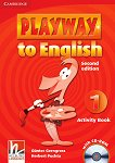 Playway to English - ниво 1: Учебна тетрадка по английски език + CD-ROM : Second Edition - Herbert Puchta, Gunter Gerngross -