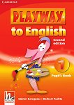 Playway to English - ниво 1: Учебник по английски език : Second Edition - Gunter Gerngross, Herbert Puchta -