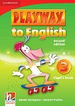 Playway to English - ниво 3: Учебник по английски език : Second Edition - Herbert Puchta, Gunter Gerngross -