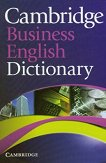 Cambridge Business English Dictionary -