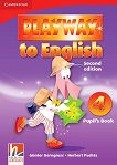 Playway to English - ниво 4: Учебник по английски език : Second Edition - Herbert Puchta, Gunter Gerngross -