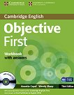 Objective First: ������ ���� �� ��������� ���� : ���� B2: ������ �������� � �������� + CD - Third Edition - Annette Capel, Wendy Sharp - ��������