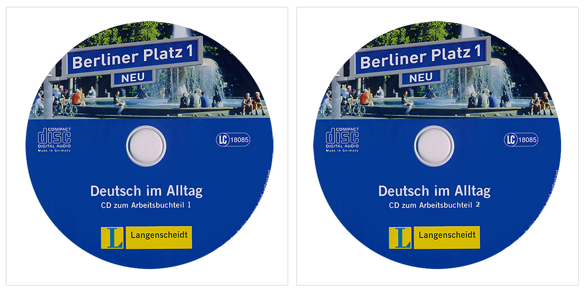 berliner platz neu 1 a1 2 cd. Black Bedroom Furniture Sets. Home Design Ideas